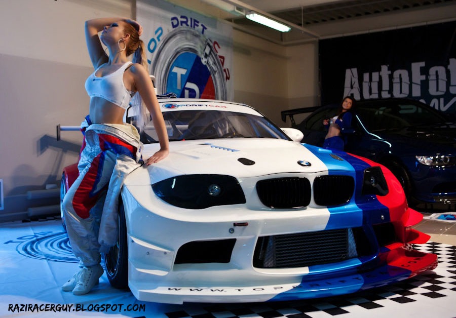 girls and tuner car - photo #27