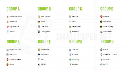 Football Mela UEFA Champions League Fixtures - Uefa champions league fixtures table