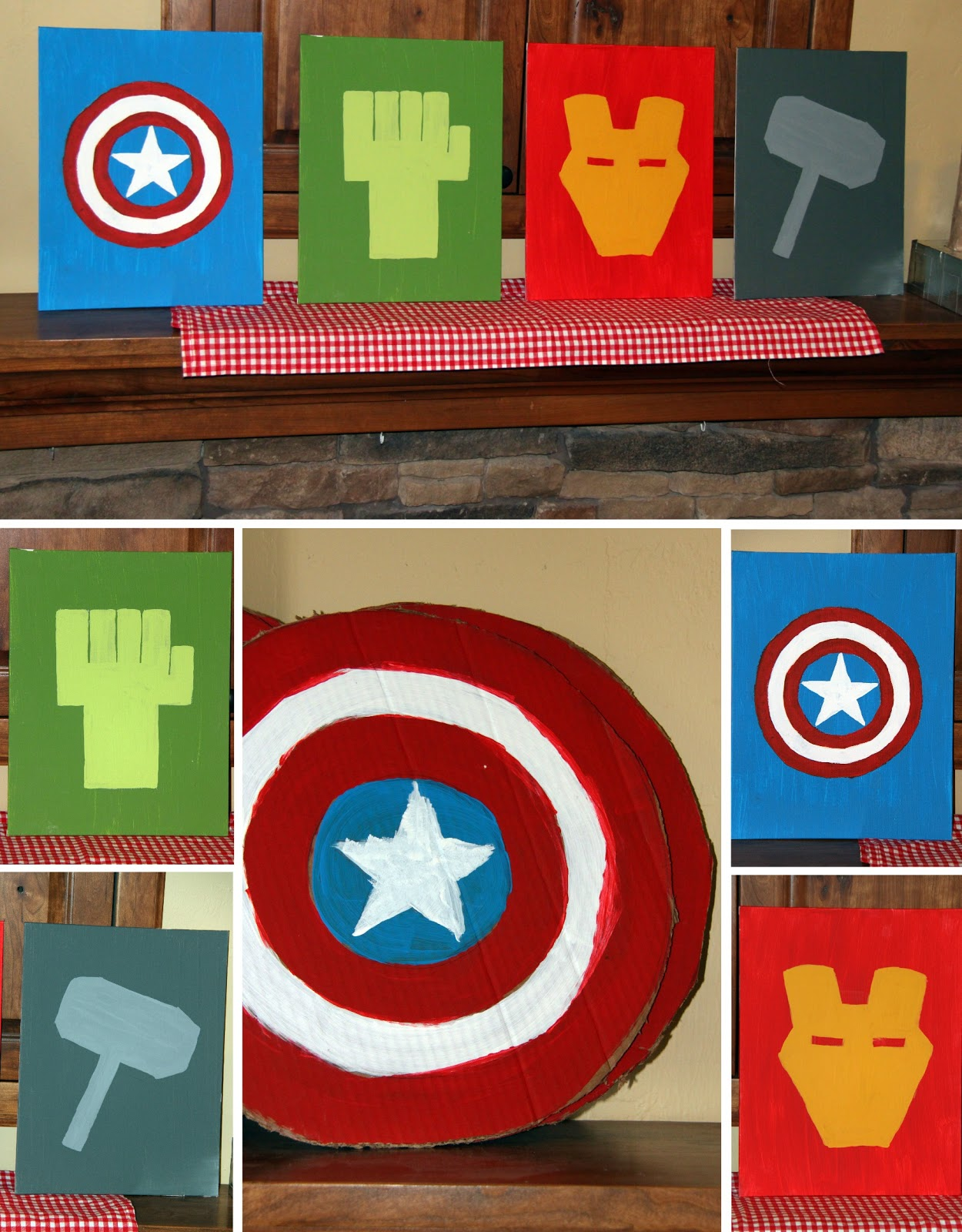 Larissa Another Day Avenger Assemble Birthday Party