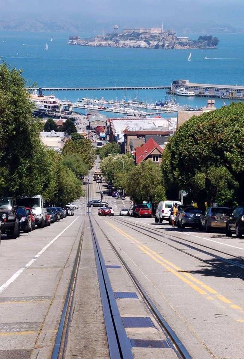 San Francisco Rıhtımından Alcatraza Dikiz Onurun Seyir Defteri