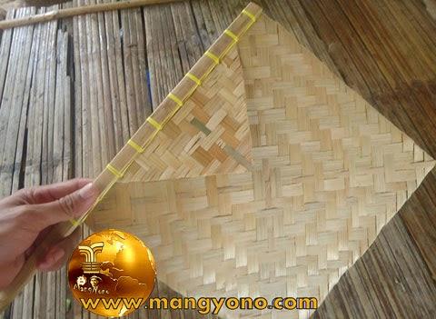 Cara membuat anyaman dari bambu