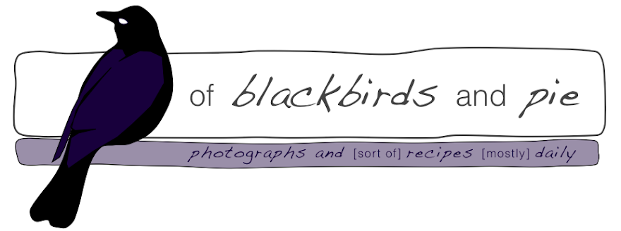 of blackbirds and pie