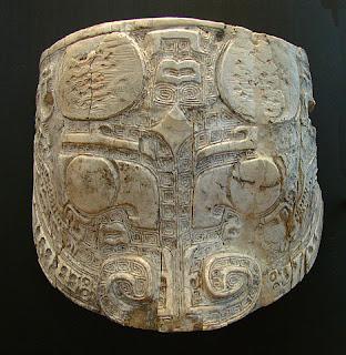 Museo de Guimet en donde se exhibe esta Máscara de la dinastía Shang
