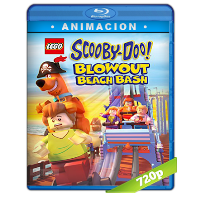 Lego Scooby-Doo Reventon En La Playa (2017) BRRip 720p Audio Trial Latino-Castellano-Ingles 5.1