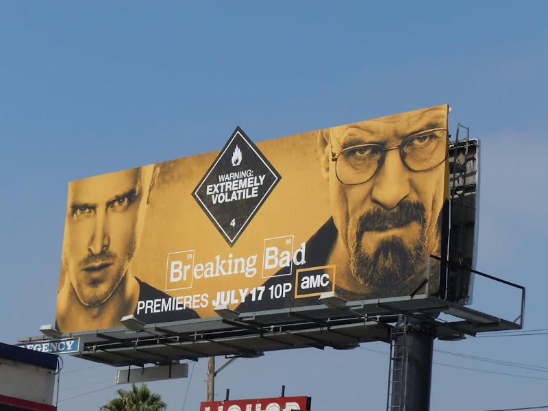 Breaking Bad season 4 TV billboard