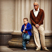 Jackson Nicoll and Johnny Knoxville
