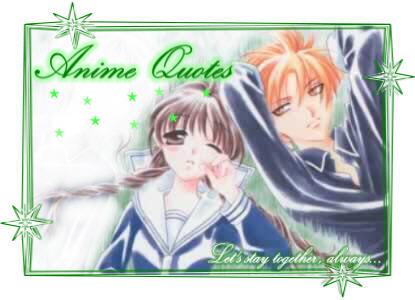 Anime Romance Quotes - Lanime Quotes
