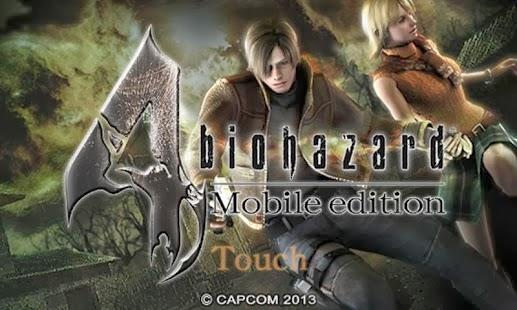 Resident Evil 4 + data Android Game
