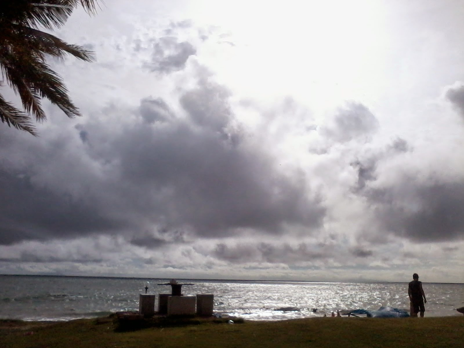 Cloudy Anyer Beach