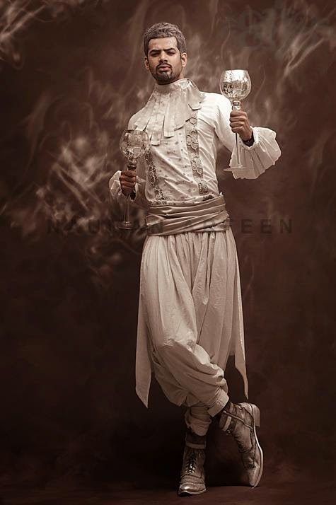 Muhammad Ali for Nauman Afreen muse photoshoot