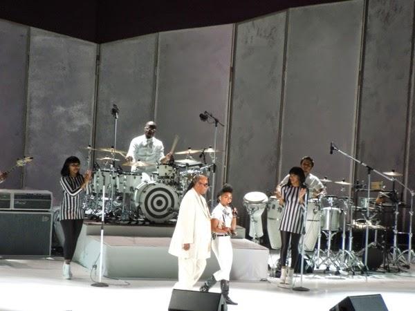 Stevie Wonder Janelle Monáe Hollywood Bowl 2014