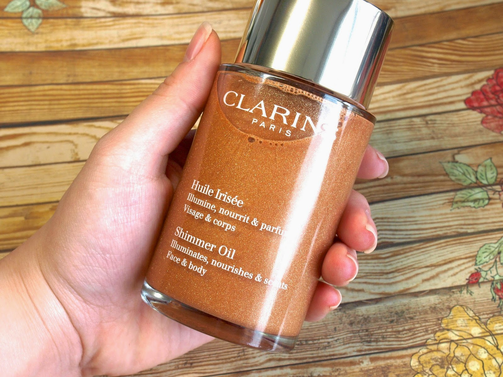 Clarins Shimmer Oil