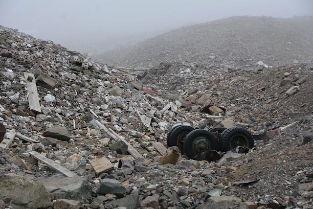 Bonanza Hike Kennicott rubbish