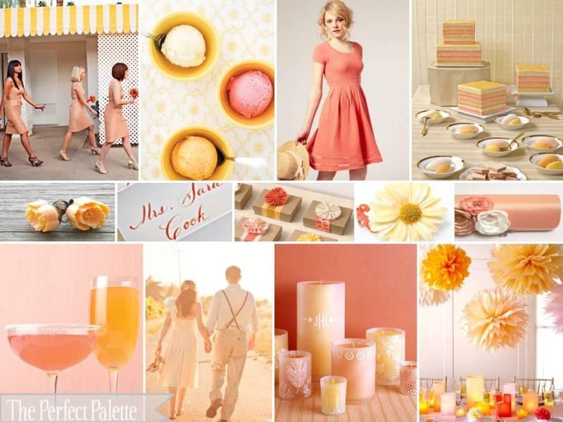 Glass slipper designs pretty colour combination peach - Peach and red combination ...