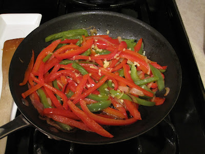 how to cut a bell pepper for fajitas