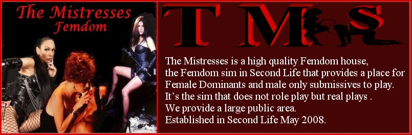 THE MISTRESSESFEMDOM