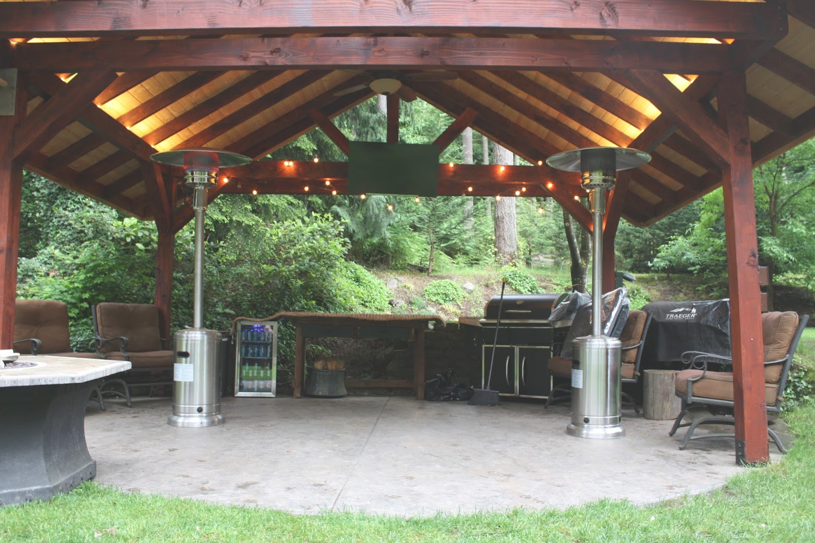 my sweet savannah our new outdoor entertaining area