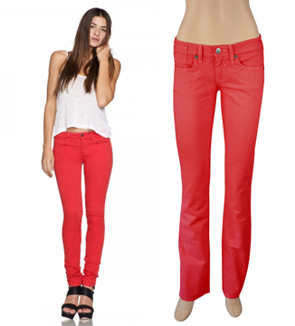 Bad Joan ...it's good to be bad!: get the look: RED JEANS