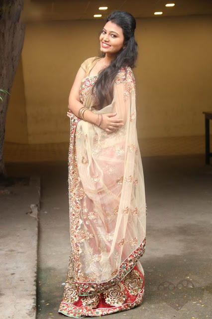 Piranmalai in Cream Saree Movie Press Meet held at Chennai