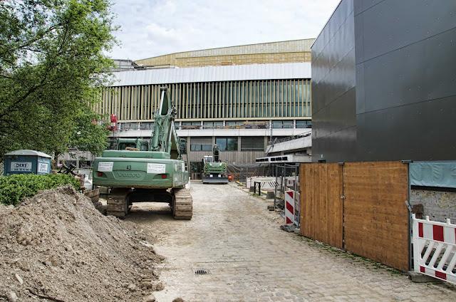 Baustelle Staatsbibliothek zu Berlin, Potsdamer Straße 33, 10785 Berlin, 04.06.2014