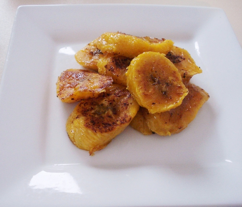 baked sweet plantains serves 2 ingredients 2 yellow black plantains