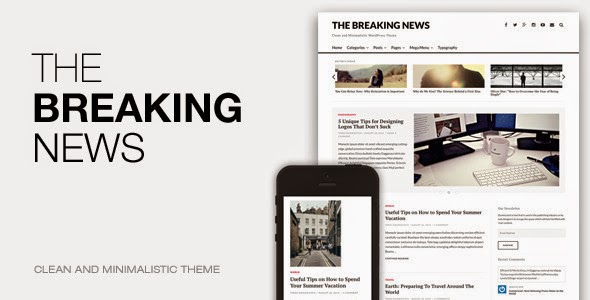Responsive News WordPress Theme