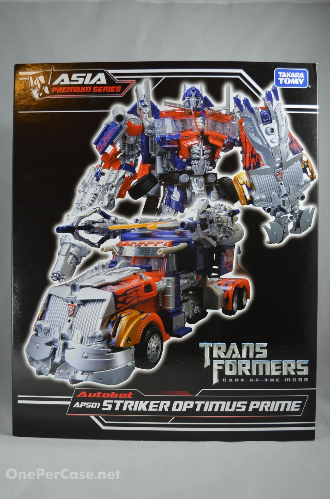 Takara Tomy Striker Optimus Prime Takara Tomy Aps 01 Striker