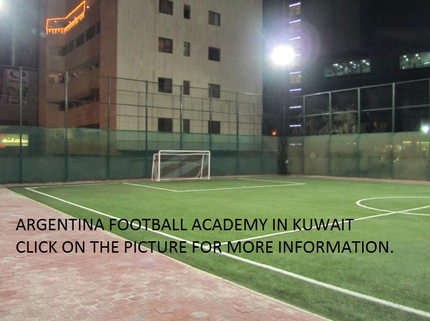 Football for kids in Kuwait