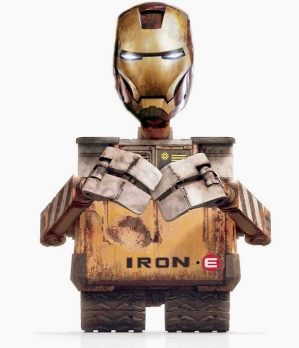 Wall-E vs Iron Man