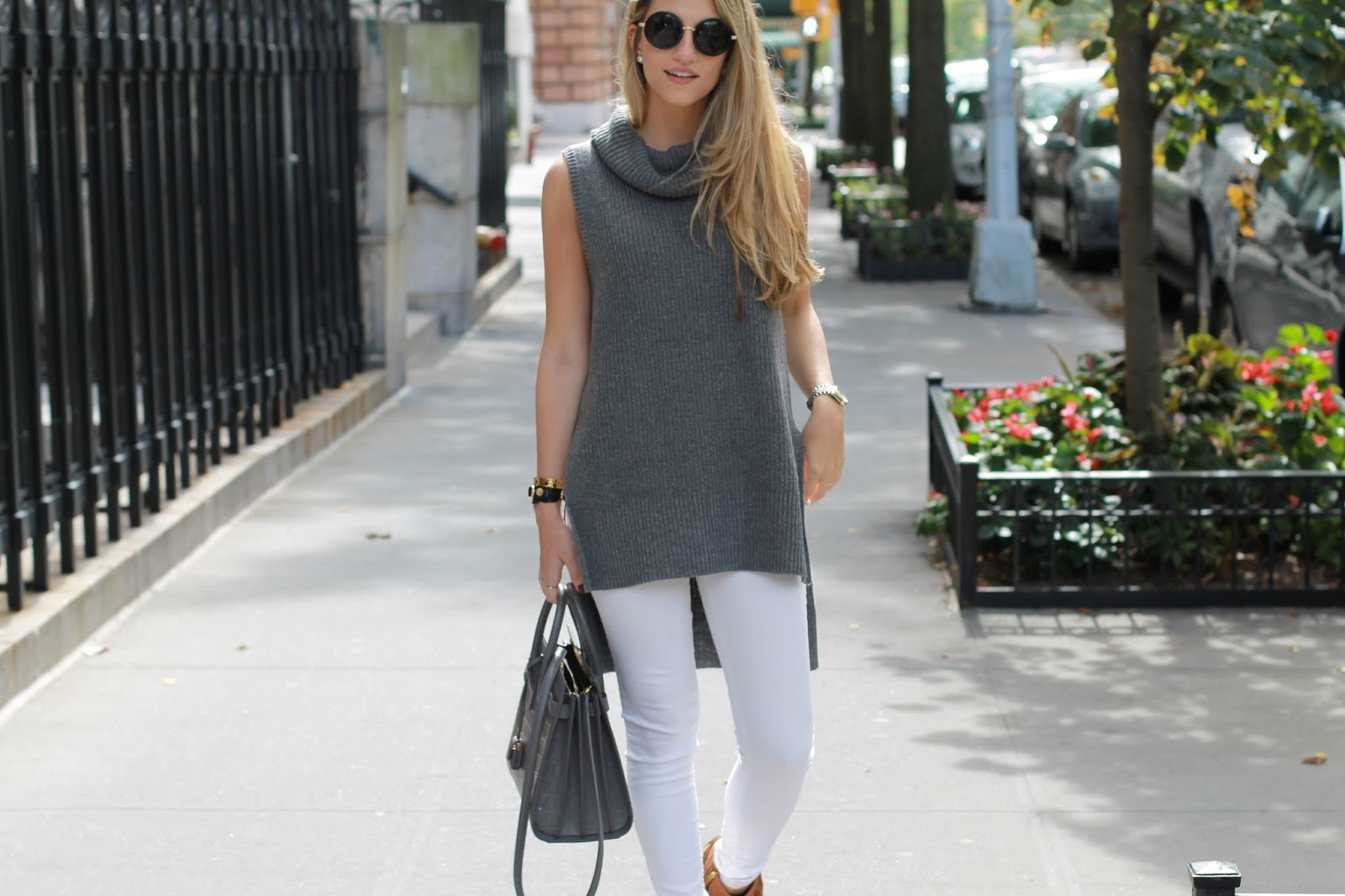 forever21 sleeveless sweater, side slit top, dressed for dreams