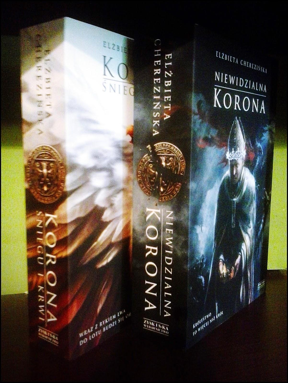 Odrodzone królestwo, seria, zdjęcie książek, Cherezińska
