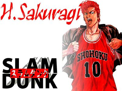 Slam Dunk Cartoon Picture