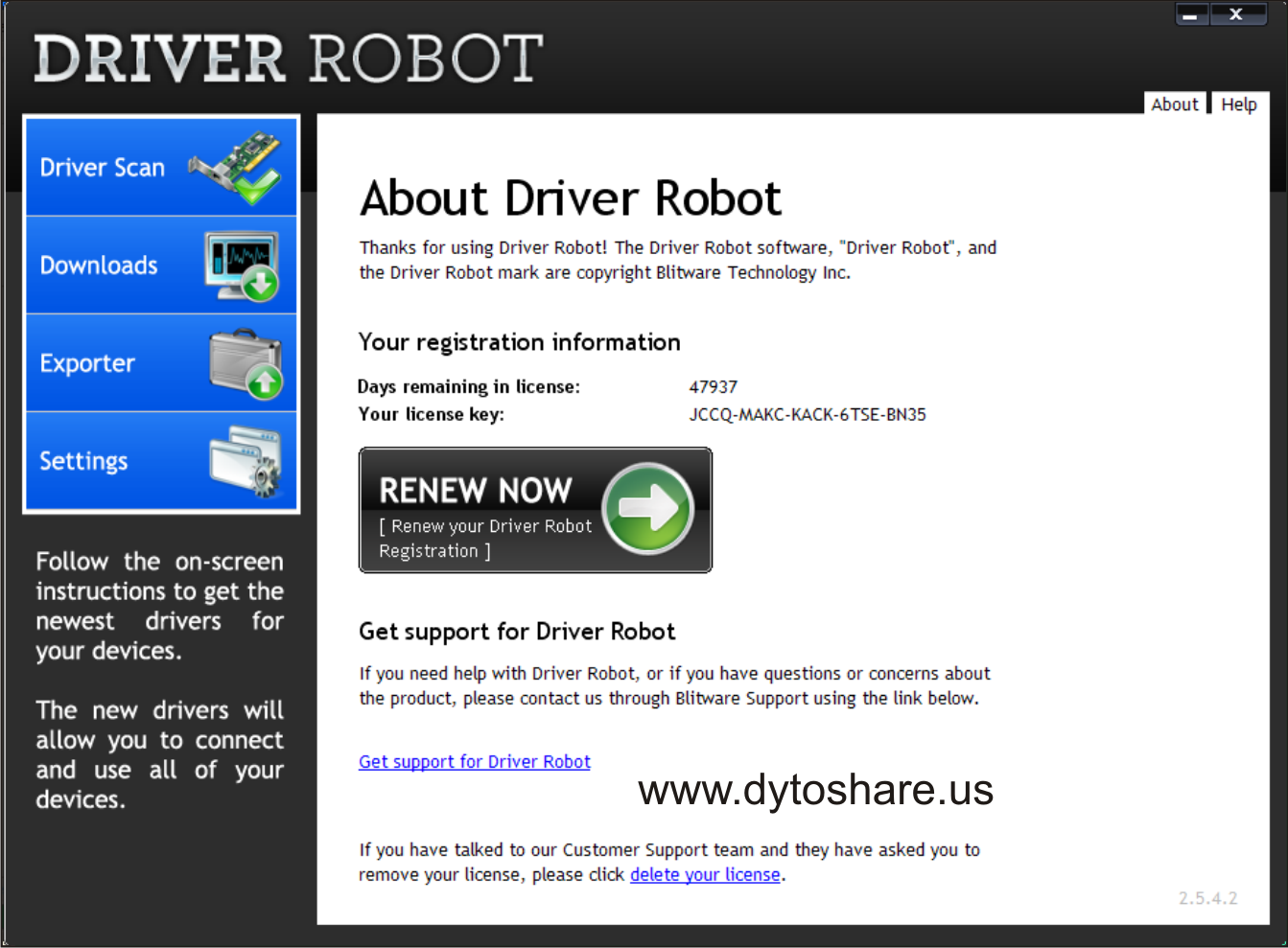 Dytobagas Software Crack Driver Robot 2 5 4 2 Full Serial
