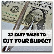 37 Easy Ways to Save Money