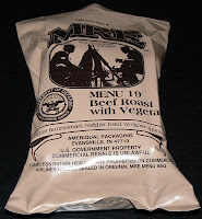 MRE Review: Menu 19, Beef Roast Overwrap