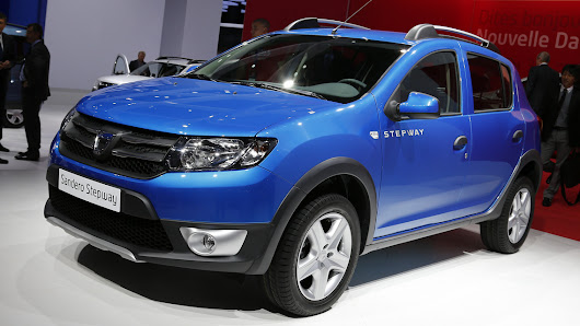 2013 Dacia Logan, Sandero ve Sandero Stepway Paris'te