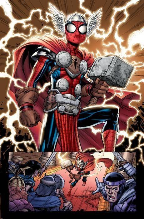 Galería de Portadores del Mjolnir - Spider-Man