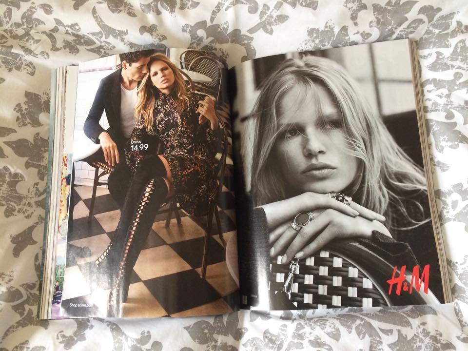 vogue magazine, fashion blogger, advertisement, glossy