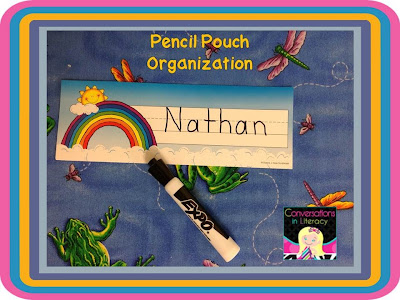 name plates and dry erase markers