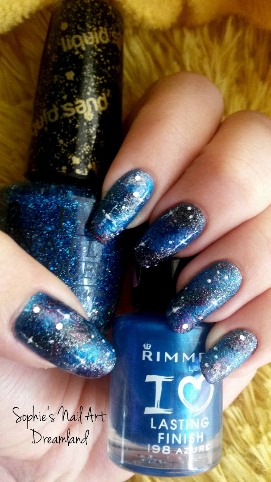 Nail Art Marathon - 2. Galaxy Nails | Sophie\'s Nail Art Dreamland