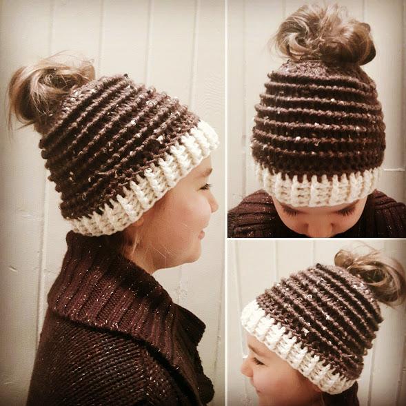 Pine Ridge Messy Bun Hat