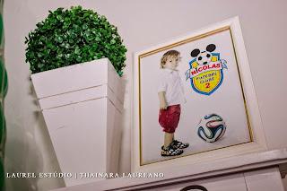 decoração futebol