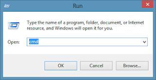 WinKey+R அழுத்துவதன் மூலம் Run ஐ திறக்கலாம்