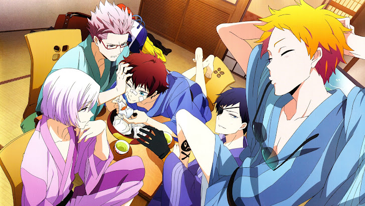 Murasaki, Nice, Birthday, Ratio and Art Hamatora Anime