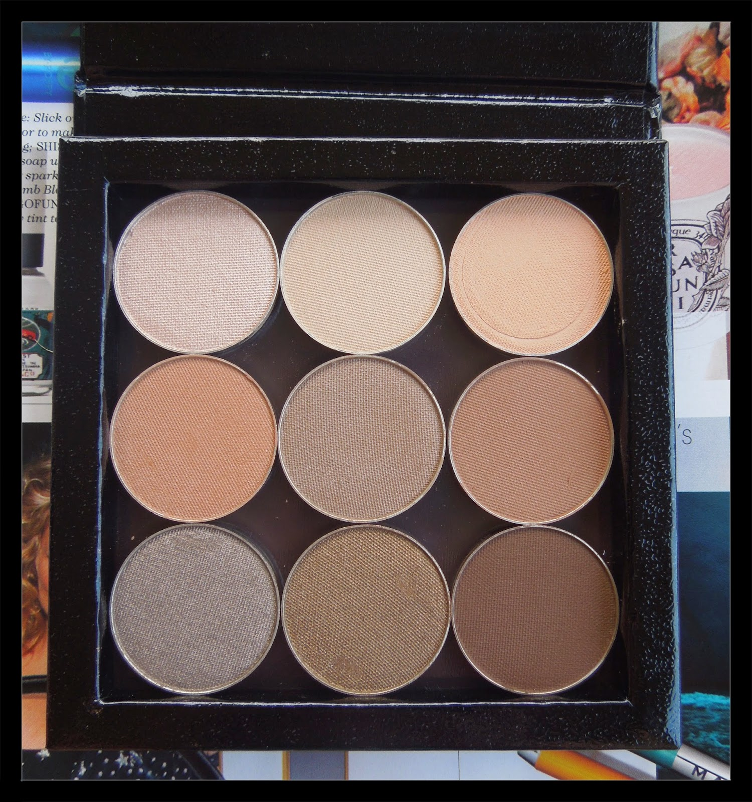 I have only a few MAC shadows, crazy I know. And from what I've heard, many people prefer Makeup Geek shadows to MAC ...
