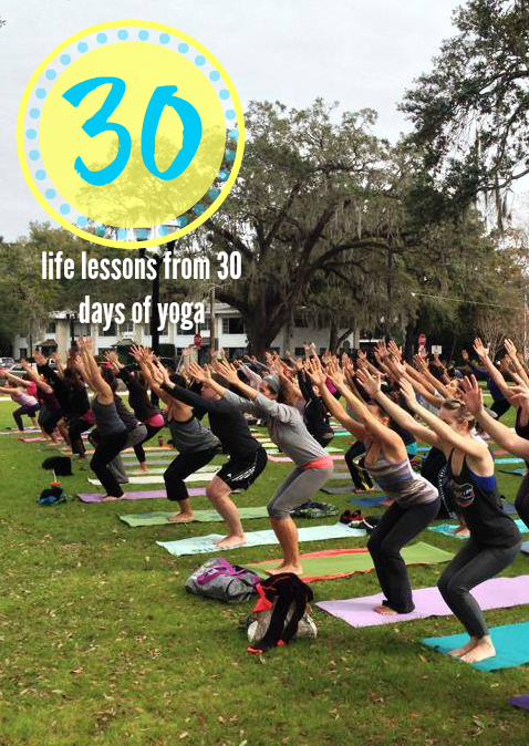 30 life lessons from yoga