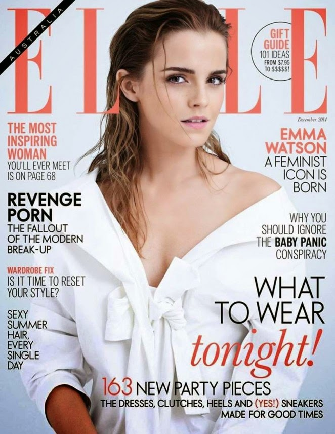 Emma Watson covers Elle Australia December 2014