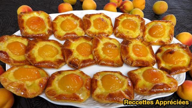 Recette Couques à l'abricot