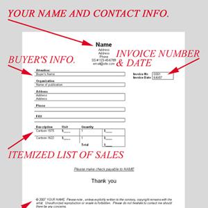 Cartoon Invoices: How To Invoice