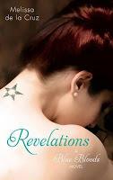 UK book cover of Revelations Blue Bloods by Melissa de la Cruz